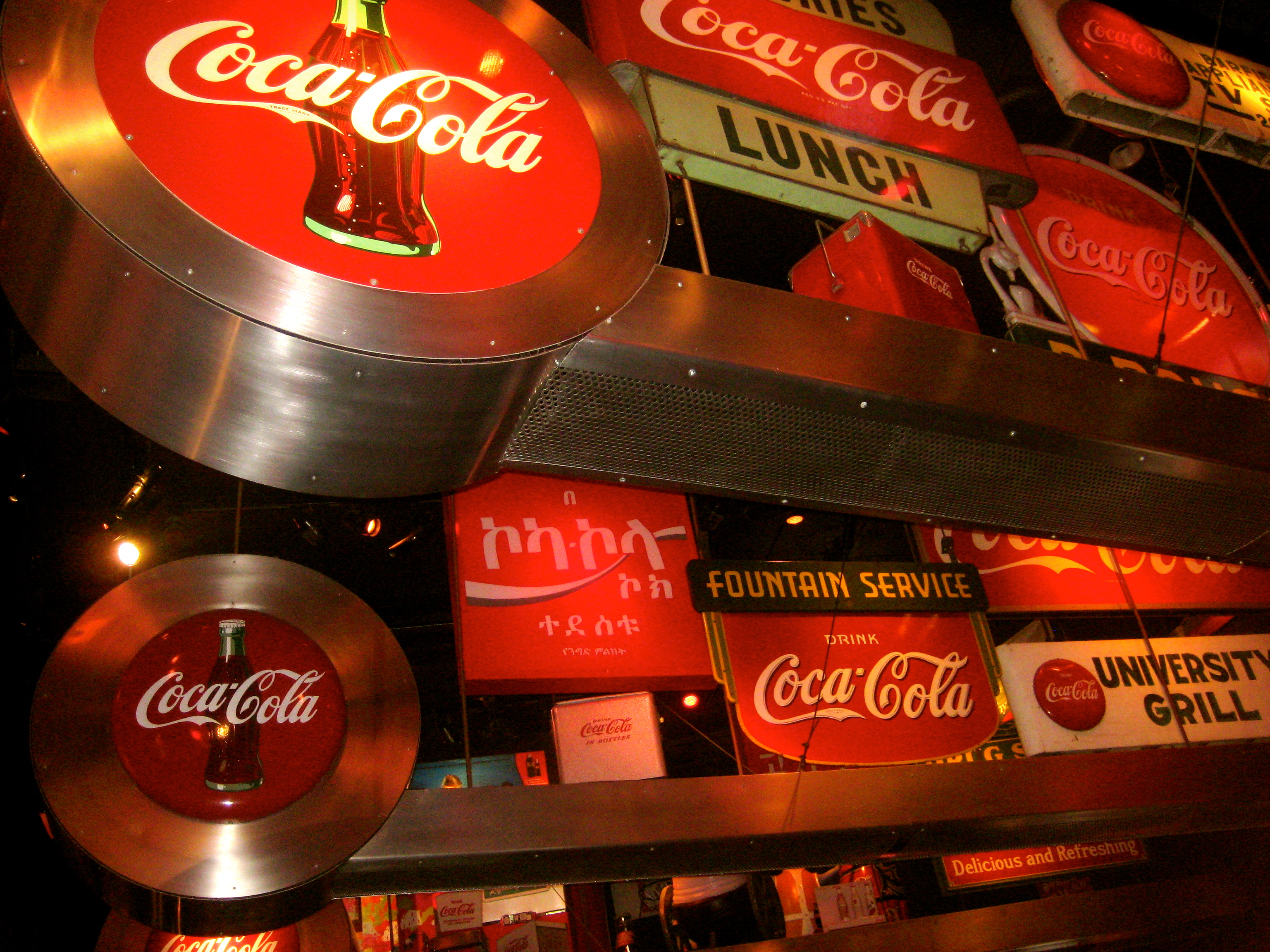 history and description of coca cola Chattanooga was the 1st coca-cola bottling company clear bottles were usually found northeast of atlanta, ga and amber bottles were usually found southwest of knoxville, tn evolution bottle #3a - years: 1900 - 1915.