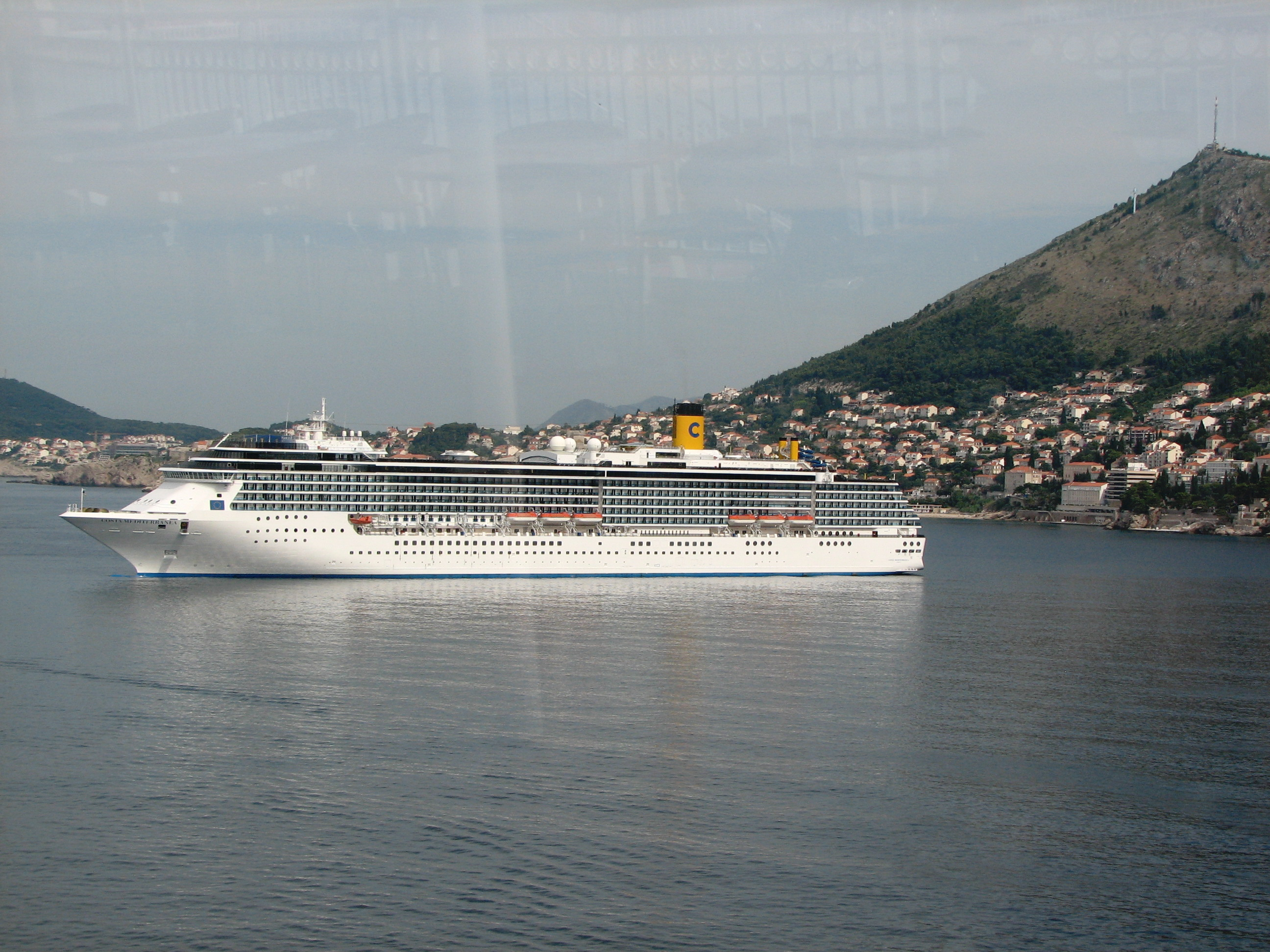 FileCruise Ship Costa Mediterranea  Dubrovnik Croatia