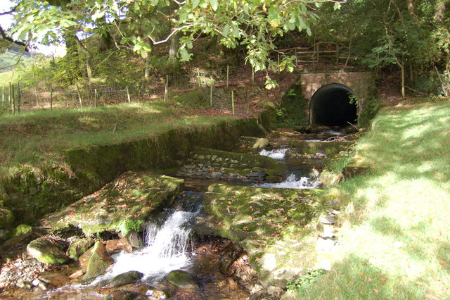Culvert Entrance and Stream - geograph.org.uk - 747549