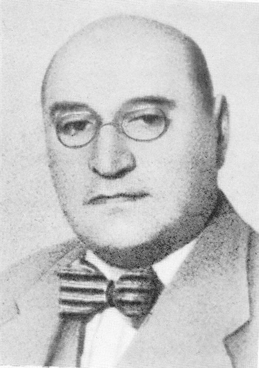 Adam Czerniaków (before 1939)