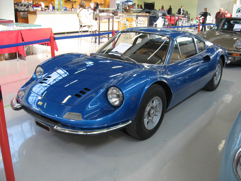 Dino_246-GT_Front Terrific Ferrari Mondial Cabrio In Vendita Cars Trend