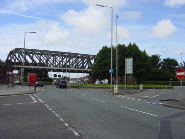 Disused railway bridge over Utting Avenue- geograph.org.uk - 37436