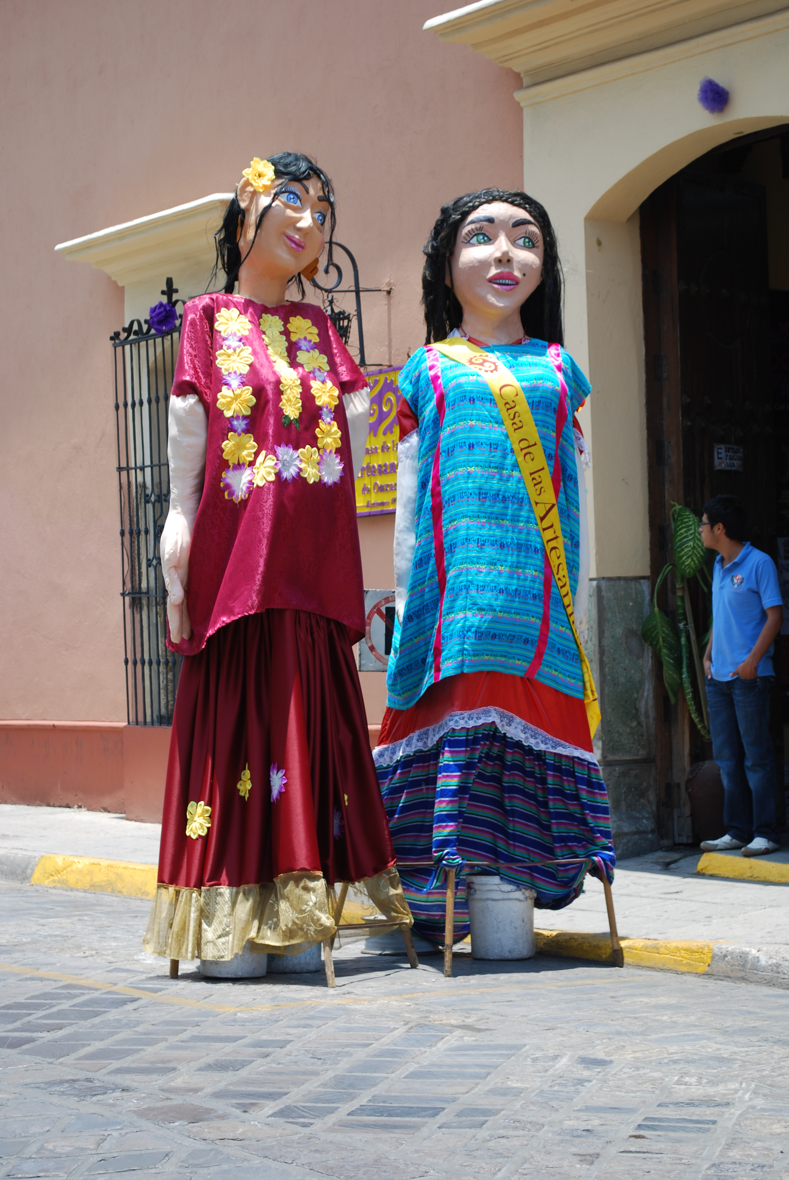 Giant Firecrackers Dolls Mexico