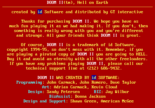 File:Doom 2 (screenshot of game-ending red window) PNG