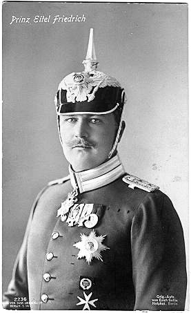 Prince Eitel Friedrich of Prussia