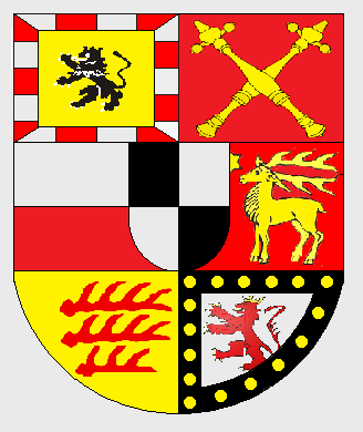 Coat of arms of the House of Hohenzollern-Sigmaringen Escudo do Hohenollern Sigmaringen.png