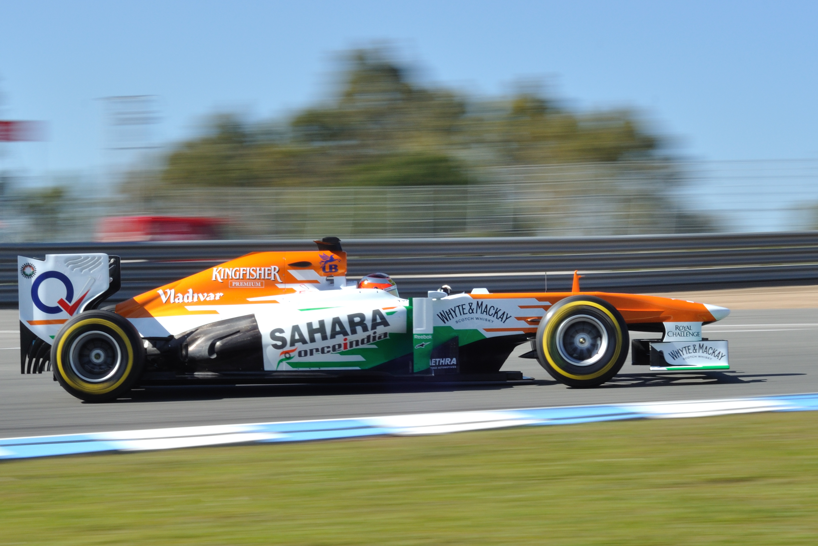 Sahara Force India F1 Background 9