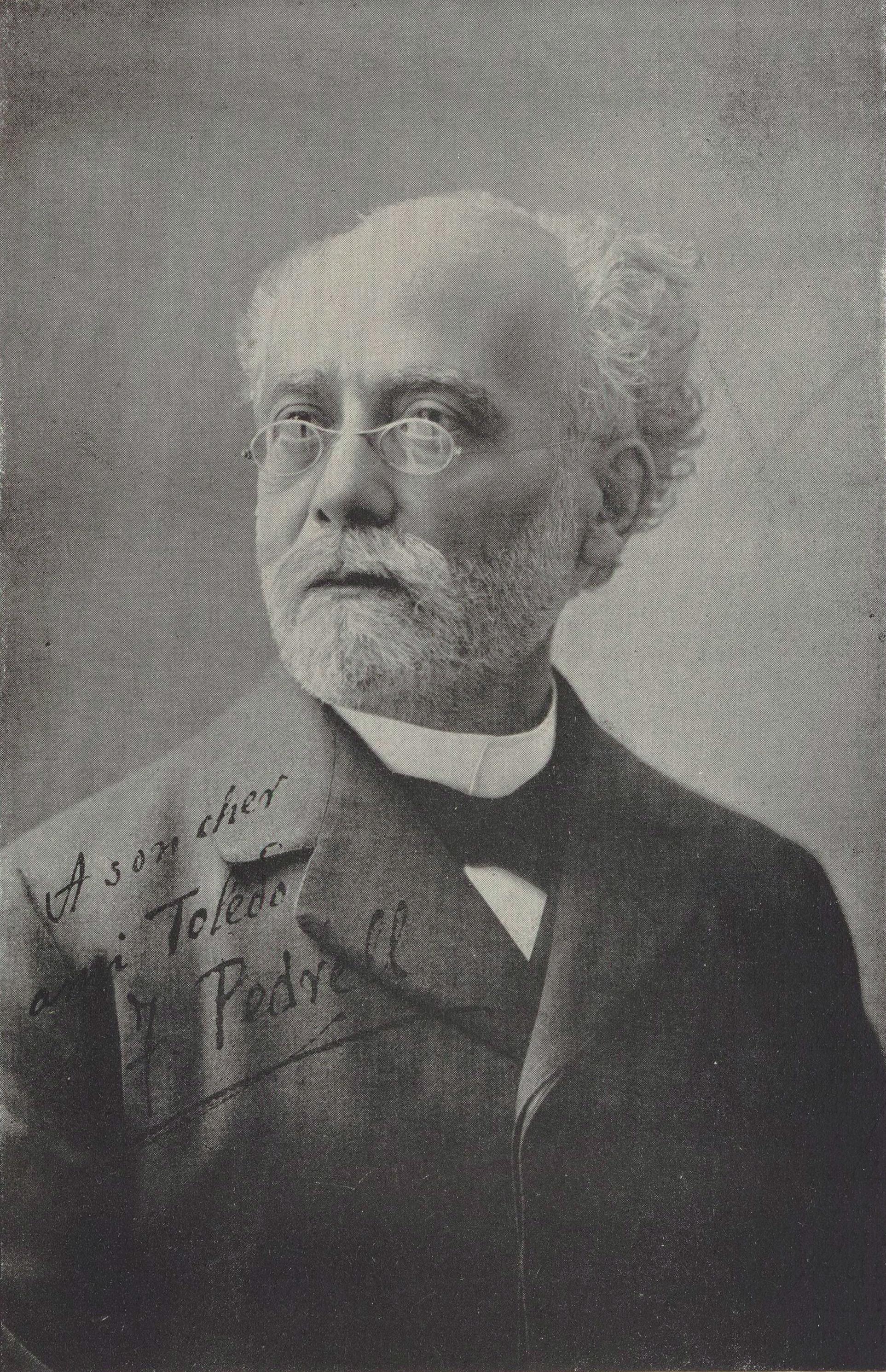 Falla conoció a Felipe Pedrell en 1901 en Madrid. Este fue una gran influencia para el compositor gaditano ya que despertó en él el interés por el flamenco y, en especial, por el cante jondo.