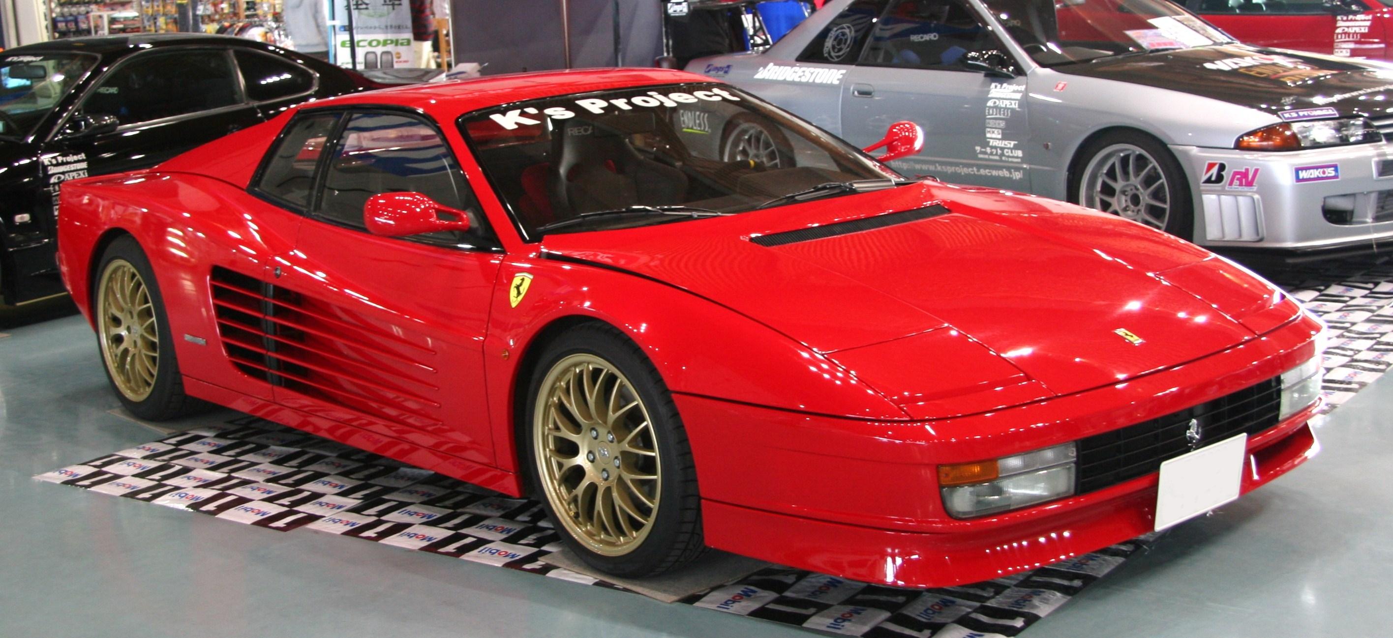 Afbeeldingsresultaat voor Ferrari Testarossa