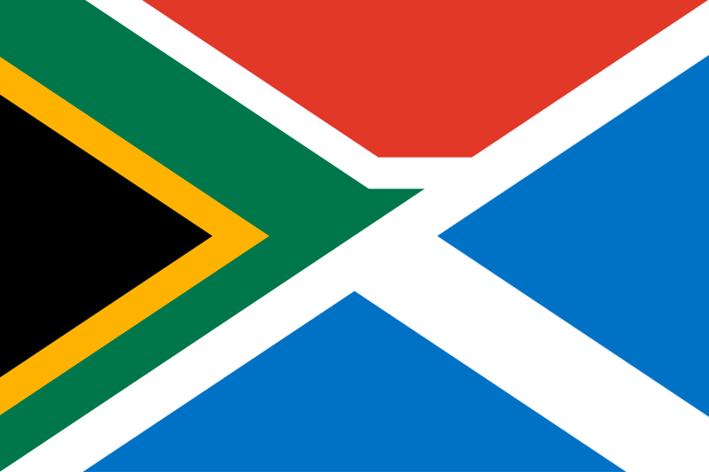 Datei Flag Of South Africa And Scotland Png Wikipedia