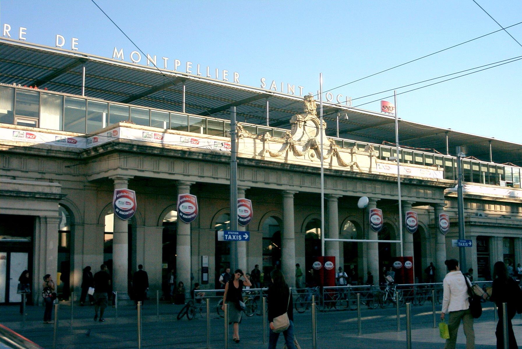 Bus Gare Saint Charles Marseille Centre Ville Arret Canebi Ef Bf Bdre