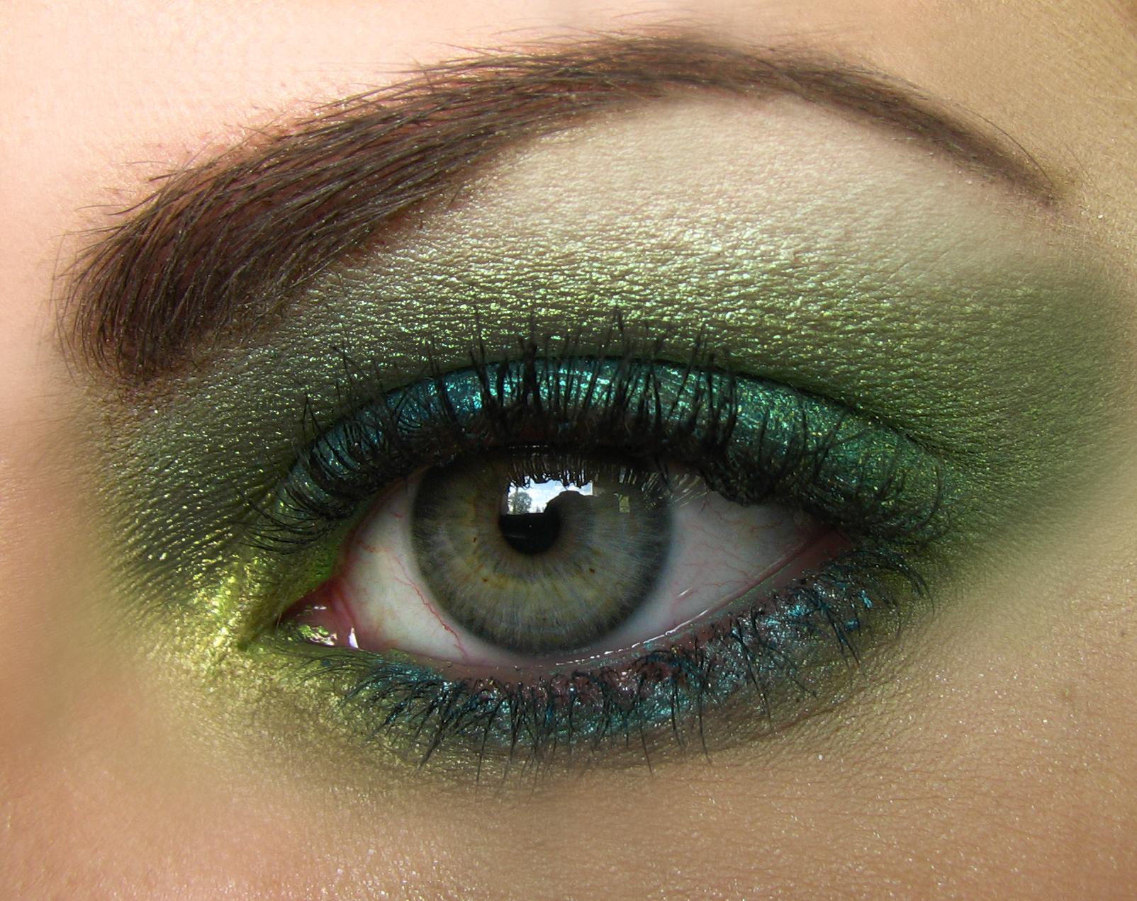 green eyes makeup - photo #1