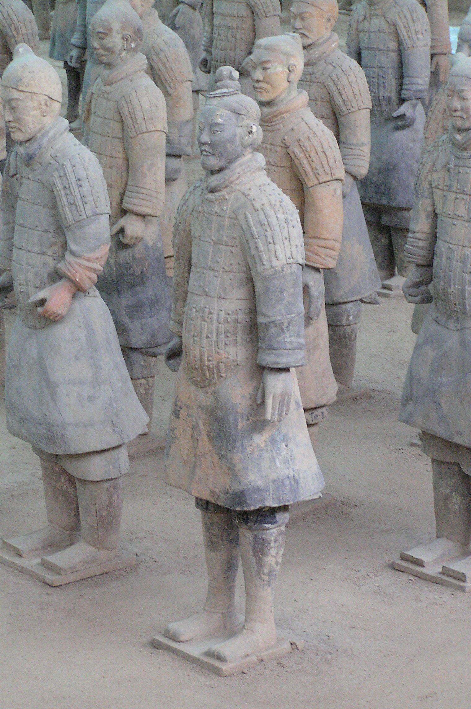 Terracotta Army of Qin Shi Huang.