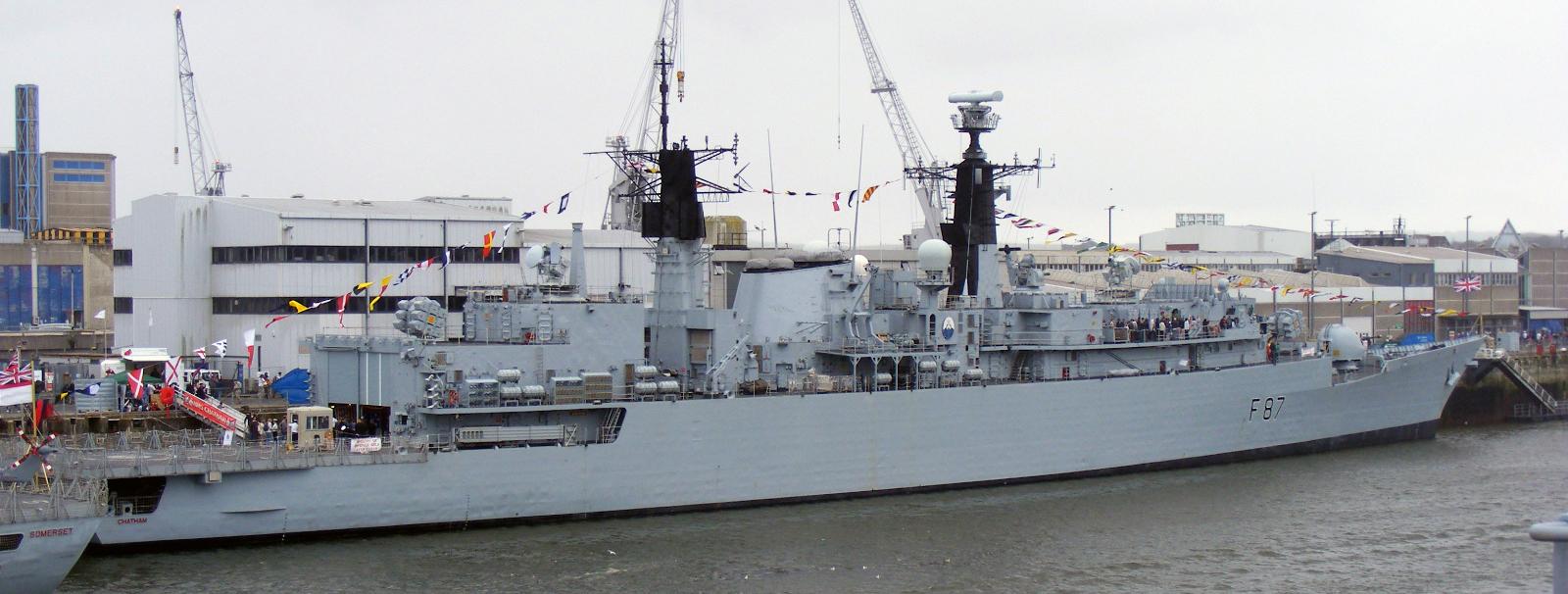 HMS Chatham (F87) - Wikipedia