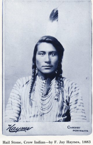 English: Hail Stone, Crow Indian by Frank Jay ...