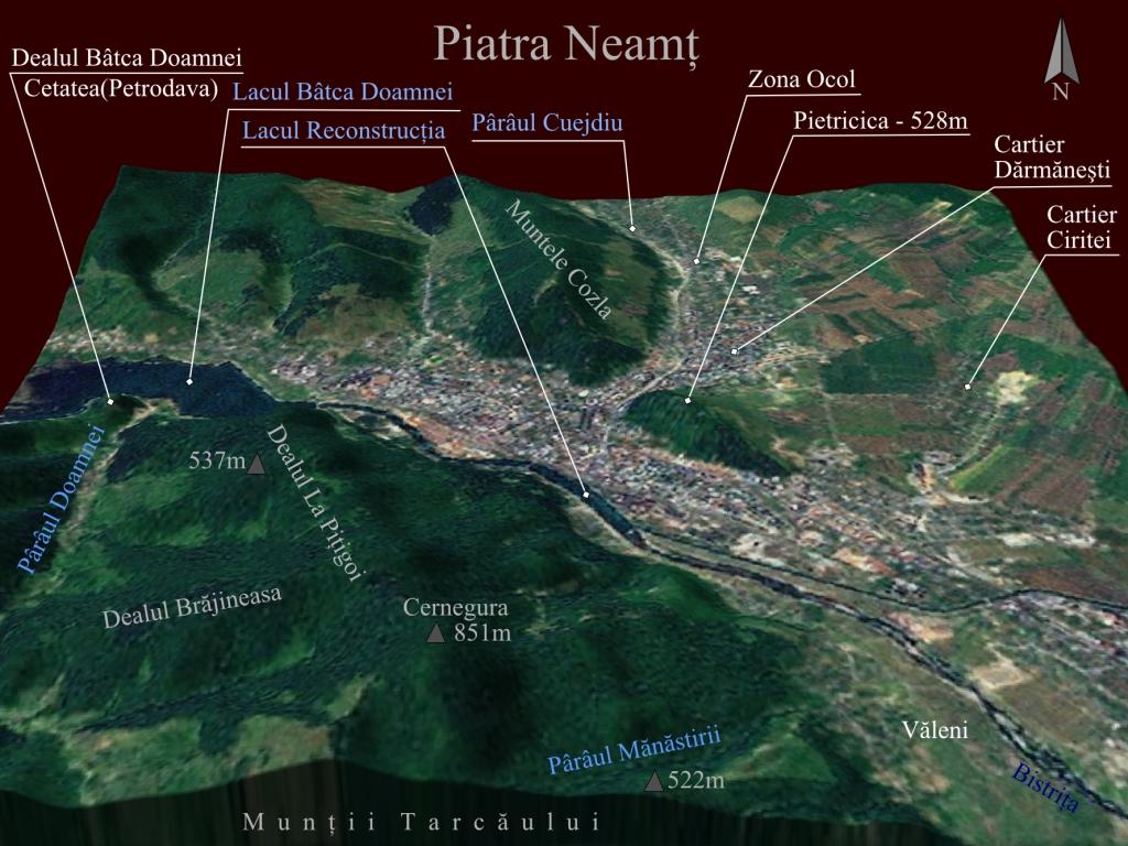 File Harta 3d Pentru Piatra Neamt Romania Jpg Wikimedia Commons