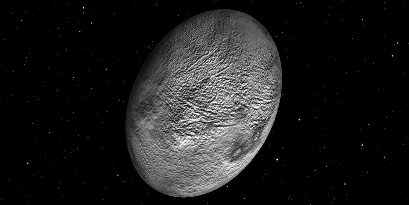 The dwarf planet, Haumea, is believed to be egg-shaped : space