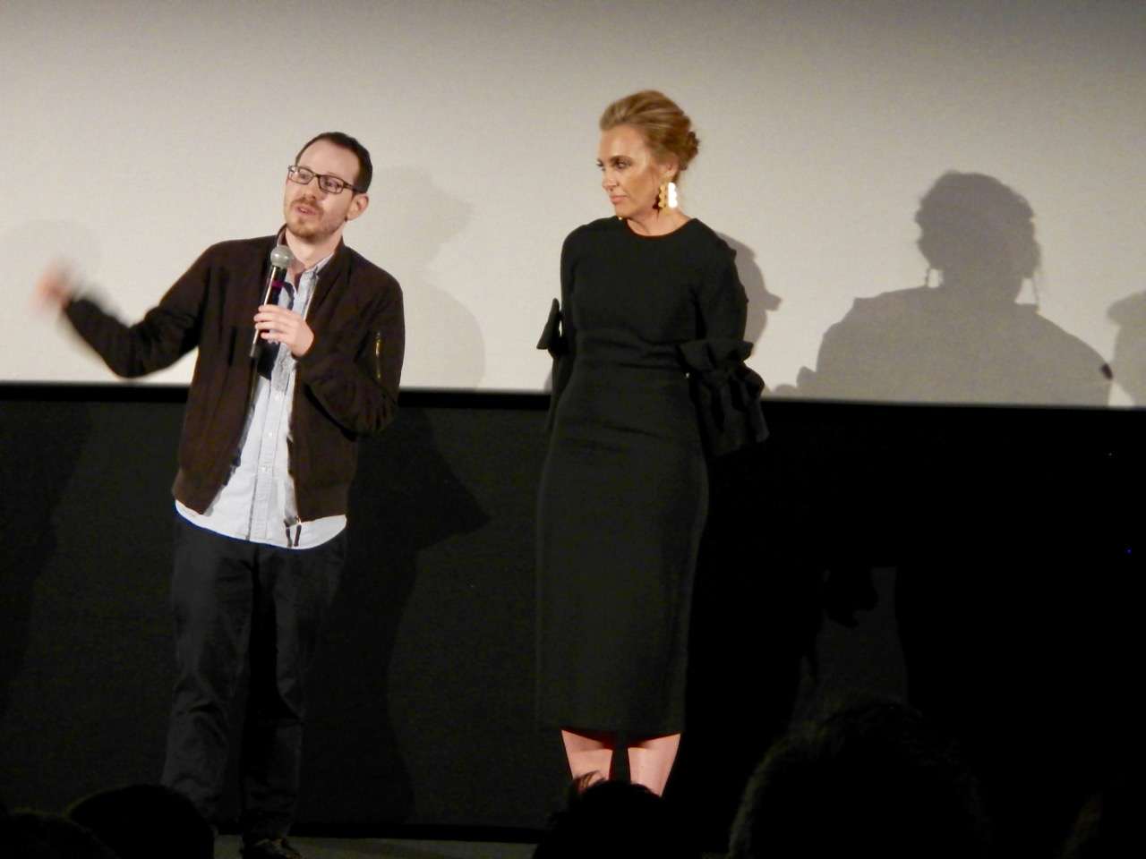 File:Hereditary Director Ari Aster with Toni Collette.jpg - Wikimedia  Commons