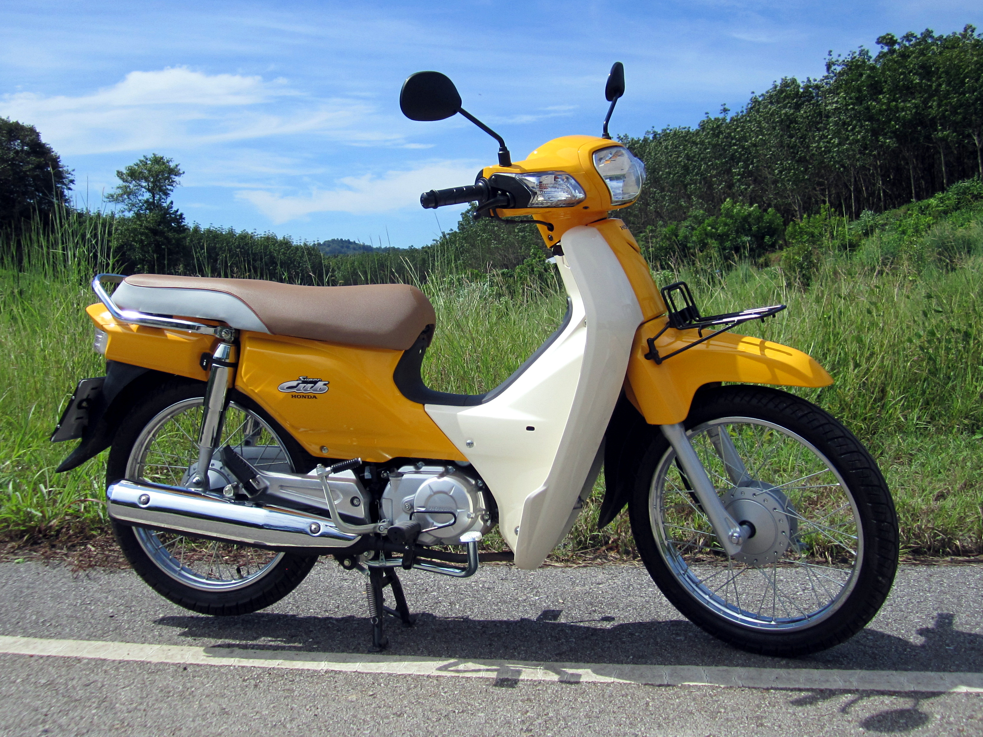 File Honda Dream 110i Super Cub Nd110m 2014 Right Jpg Wikimedia Commons