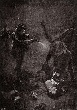 Houn-54 - The Hound killed by Holmes.jpg