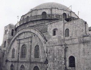 Depiction of Sinagoga Hurva