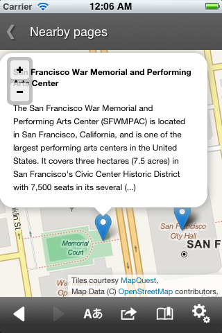 Wikipedia: New App for Android and ios Available