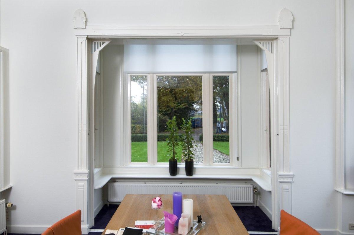 File:Interieur, overzicht erker met open vouwdeuren - Dwingeloo ...