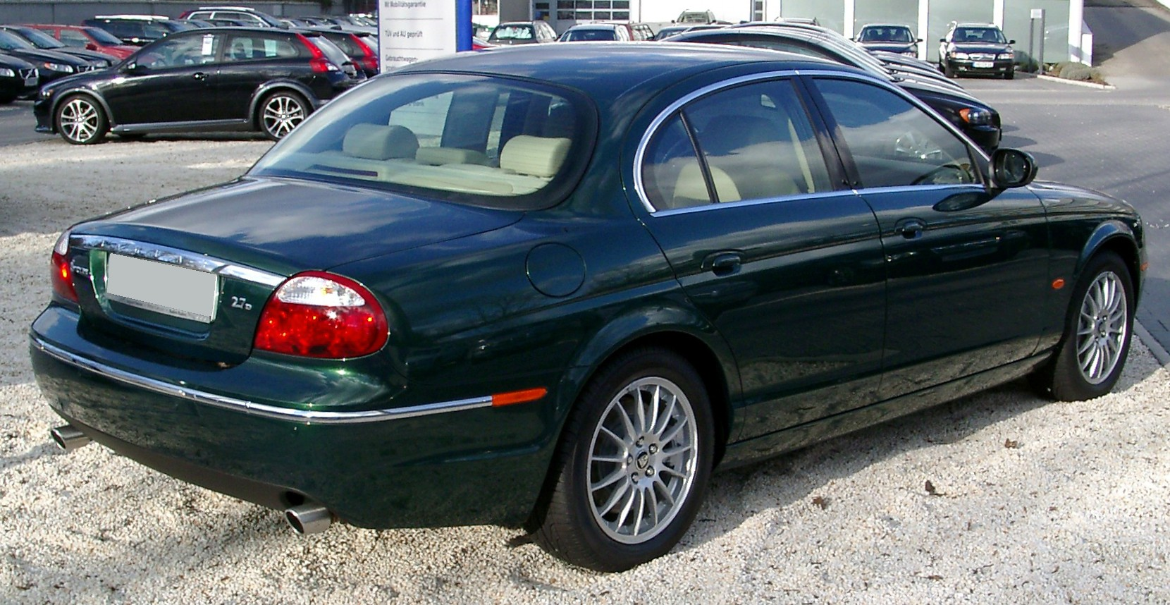 File:Jaguar S Type Rear 20080202