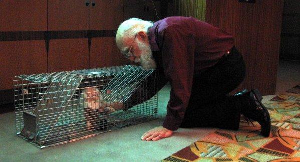 File:James Randi and Chupacabra Trap.jpg