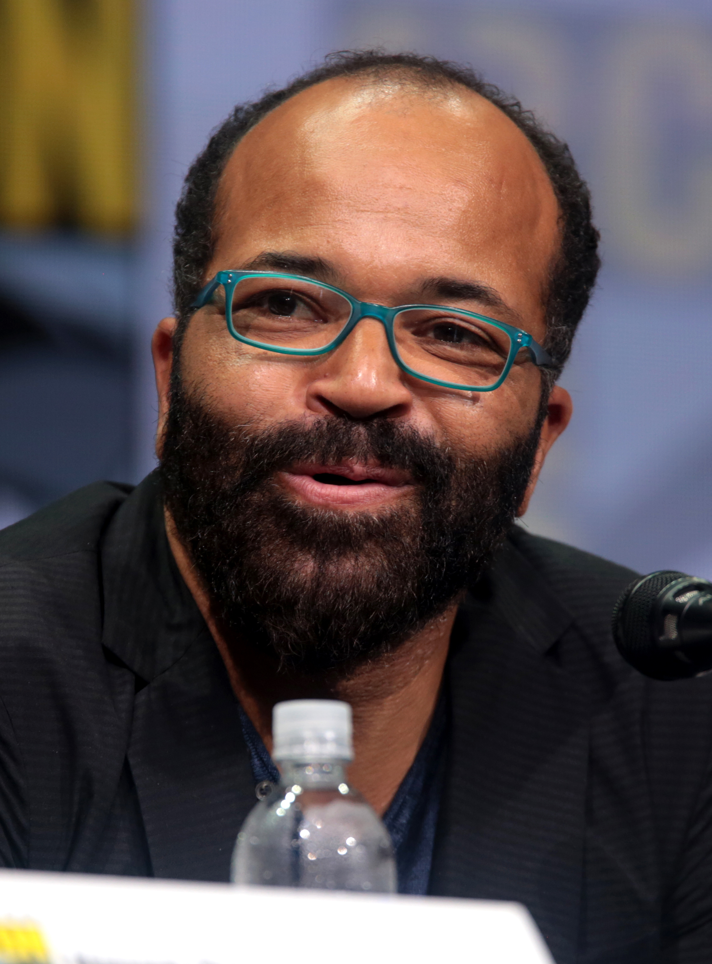 The 52-year old son of father (?) and mother(?) Jeffrey Wright in 2018 photo. Jeffrey Wright earned a  million dollar salary - leaving the net worth at 5 million in 2018