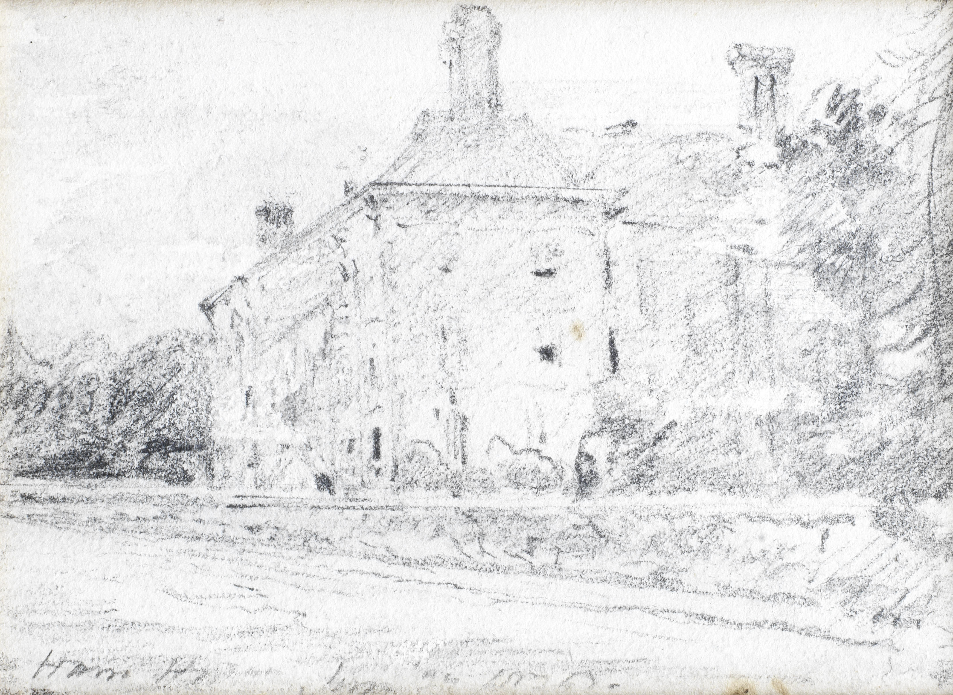John Constable Drawings File:john Constable Ham House