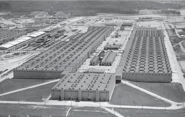 K-25 fabrikken ved Oak Ridge