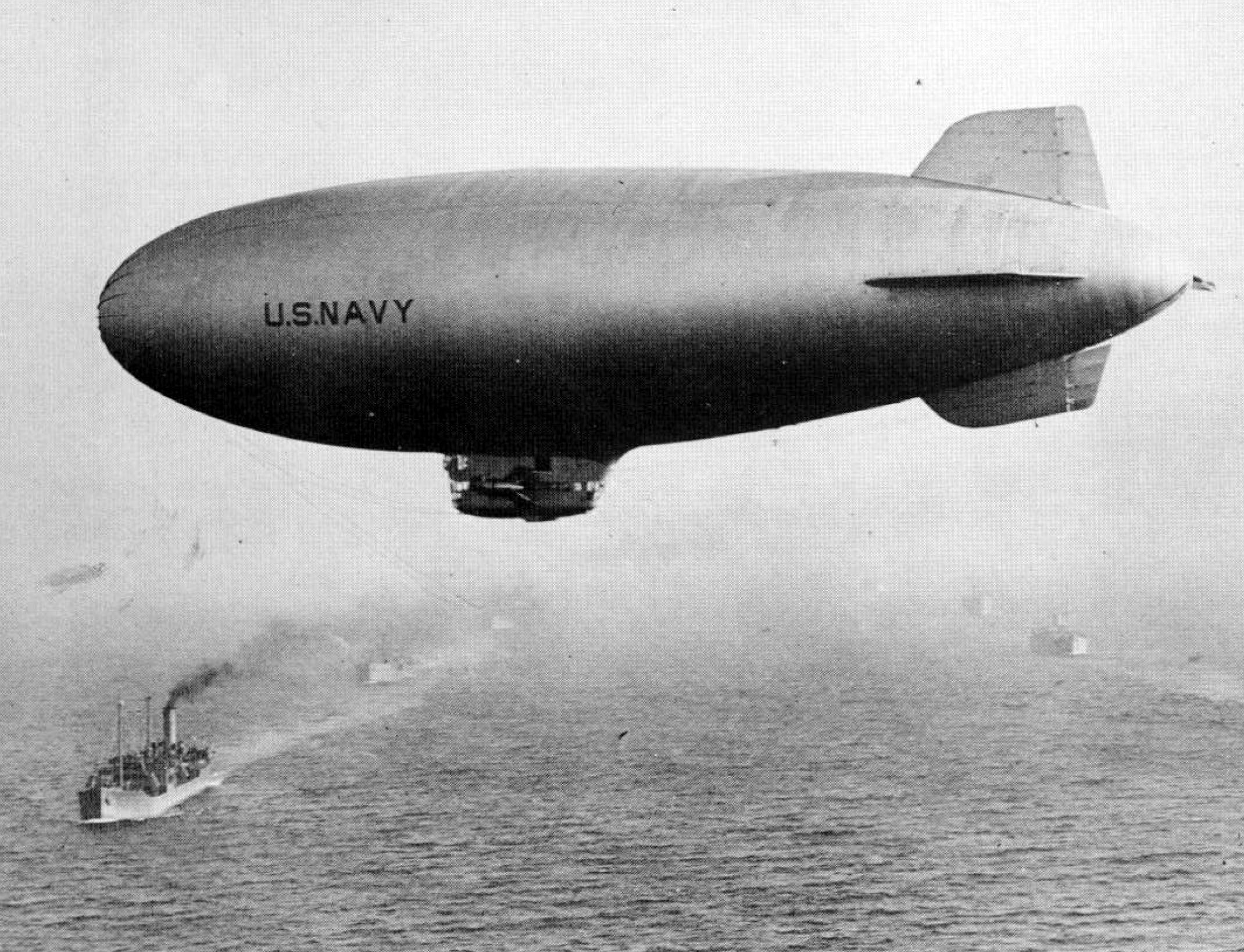 This is a real airship.