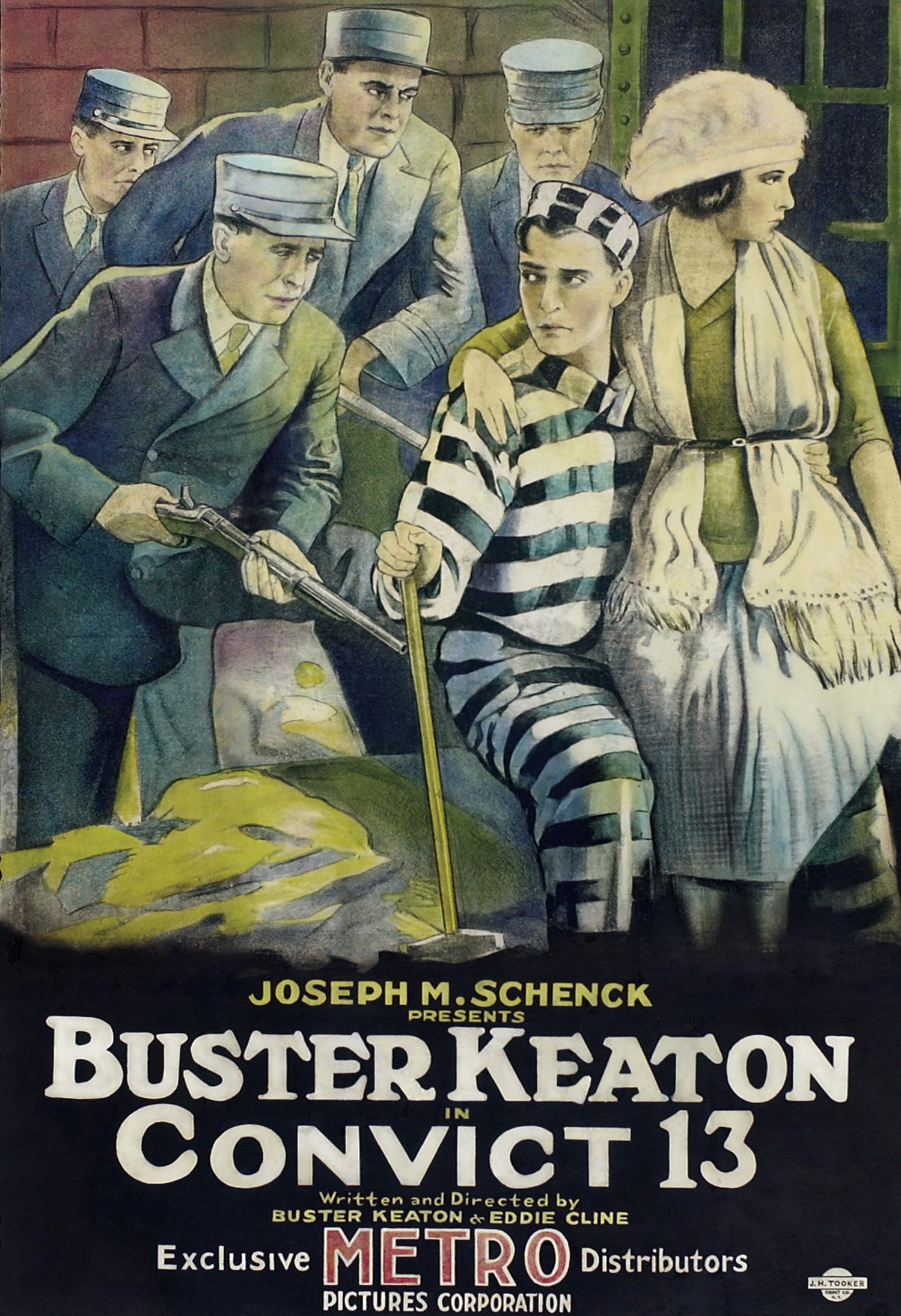 Buster Keaton - Convict 13 [1920] (MEGA)