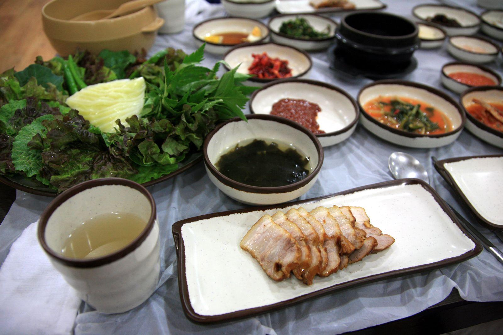 Bossam food wikipedia for Cuisine wikipedia