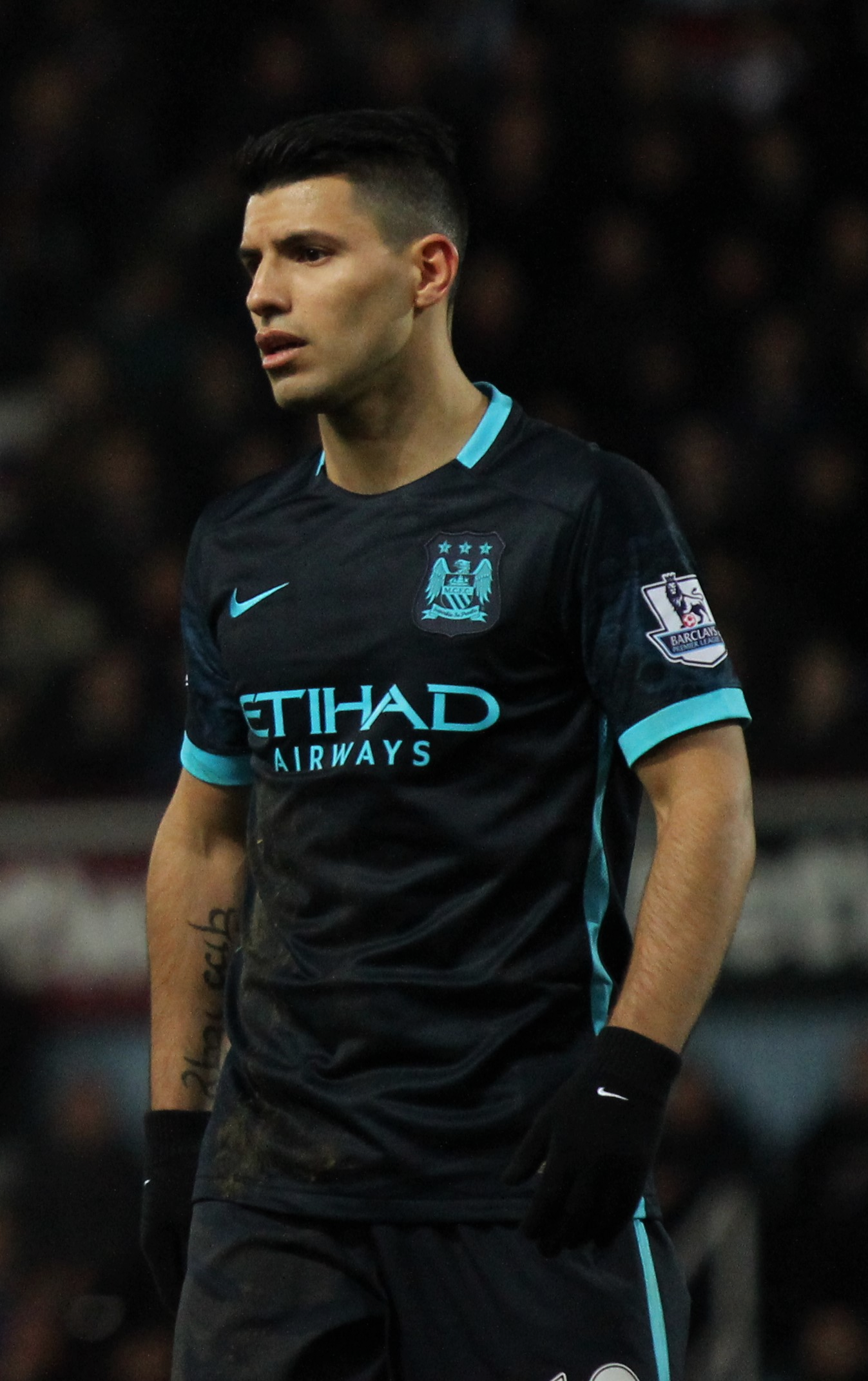 Sergio Aguero, Manchester City striker
