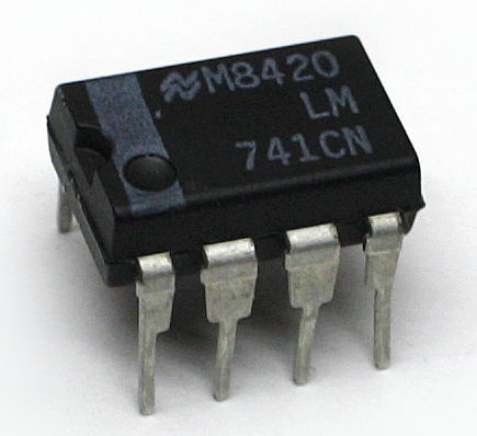 An LM741 general purpose op-amp LM741CN.jpg