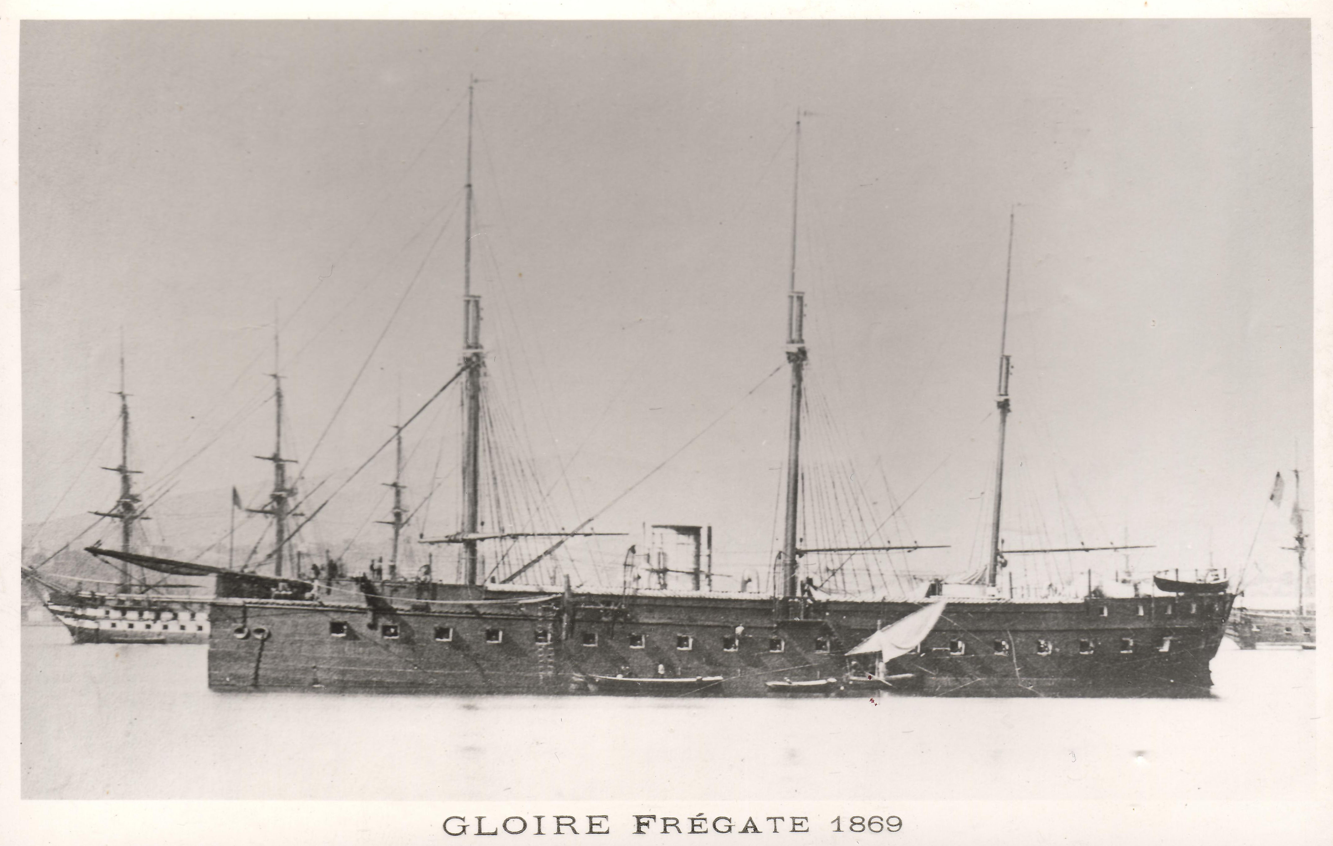 French ironclad Gloire - Wikipedia