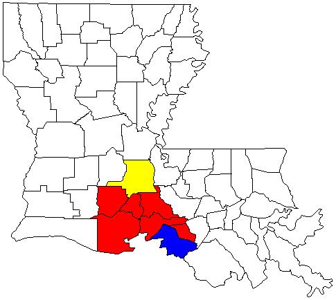 Opelousas Louisiana Map.Lafayette Opelousas Morgan City Csa Wikipedia