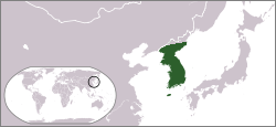 Fișier:Locationmap Goryeo.png