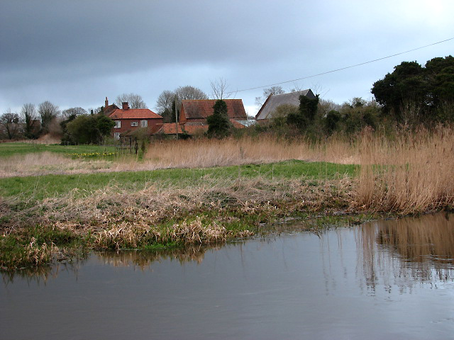 Looking across the River Bure - geograph.org.uk - 728307