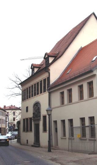Luthers Geburtshaus in Eisleben (via Wikipedia)