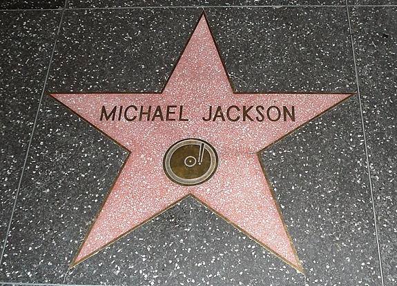 Estrella de Jackson en el Paseo de la Fama de Hollywood, reconocimiento que recibió en 1984.
