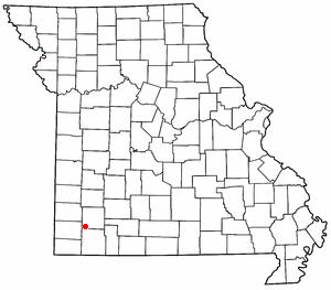 Loko di Pierce City, Missouri