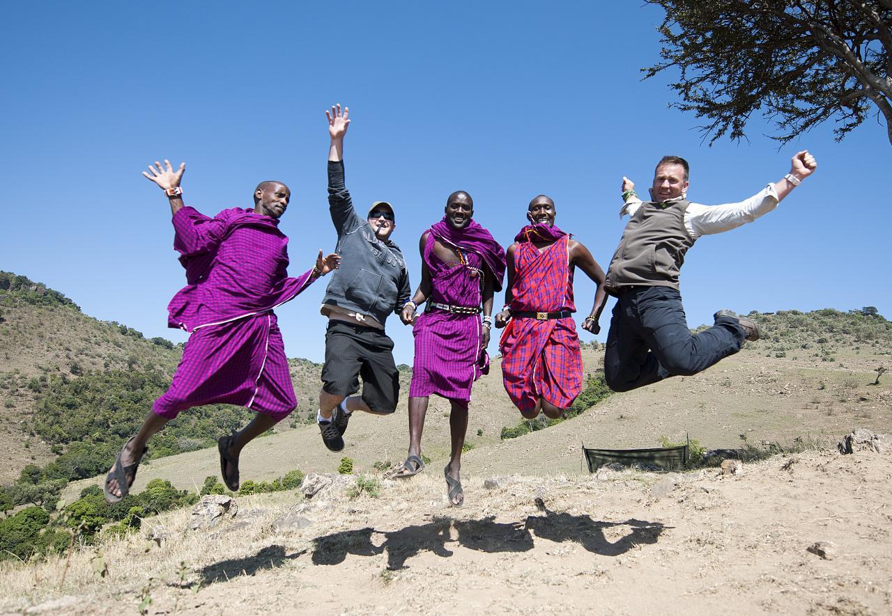 File:Maasai men...