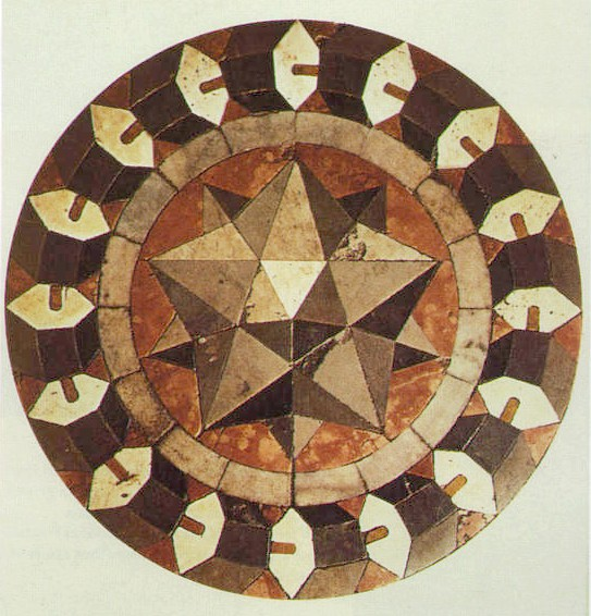 File:Marble floor mosaic Basilica of St Mark Vencice.jpg