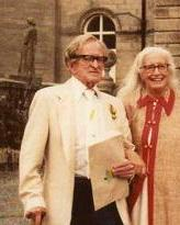 Maxwell Fry and Jane Drew at Lartington Hall 1984.JPG
