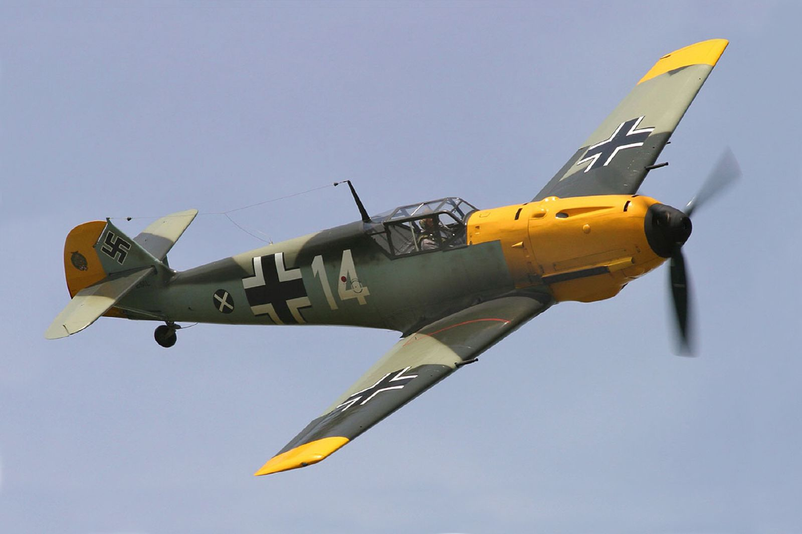 File Messerschmitt Bf 109e At Thunder Over Michigan Jpg Wikimedia Commons