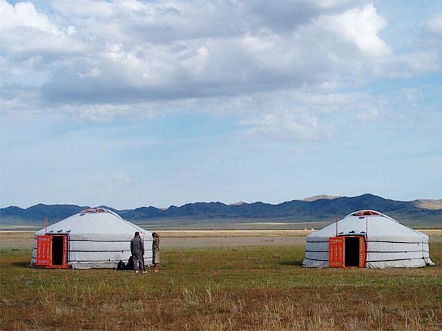 Yurta, la casa nómade Mongol Mongolia_Ger