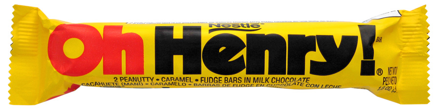 oh henry candy bar